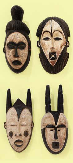 Hand carved African mask made in Cameroon - Each mask is hand carved by an African artisan in Cameroon. Celebrate the culture and history of Africa with these beautiful hand carved masks. Click to see more beautiful African masks made by African artisans. #fabric #african #africa #blackhistorymonth #masks #blackandwhite #homedecor #africanart #art #carving #wood