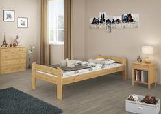 Jugendliches Einzelbett in zeitlosem Design Toddler Bed, Furniture, Design, Home Decor, Wooden Double Bed, Bedroom, House, Child Bed, Decoration Home