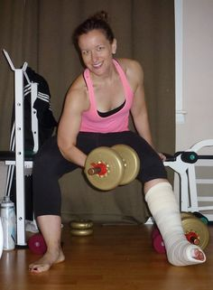 French Bunion Soup: Be Empowered: My Non Weight Bearing Workout