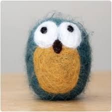 Image result for needle felted owls