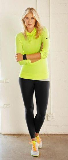 Resultado de imagen de maria sharapova in leggings