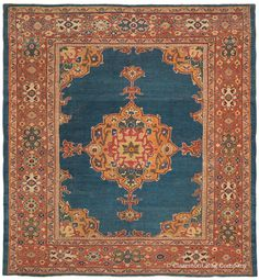SULTANABAD, West Central Persian 9ft 4in x 10ft 0in Circa 1875