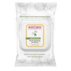 9. Burt's Bees Sensitive Facial Wet Tissues