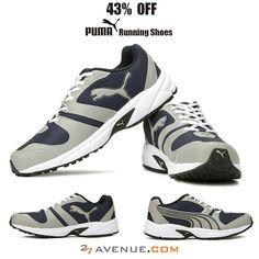 FLAT 43% OFF on Puma shoes only at www.27avenue.com! Check e718b2b2b