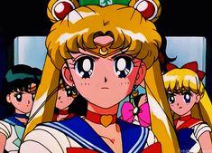 Sailor Moon + others screenshots Sailor Moon Crystal, Sailor Moon Gif, Sailor Moon Fan Art, Sailor Moon Wallpaper, Sailor Moon Character, Sailor Jupiter, Sailor Venus, Sailor Mars, Gifs
