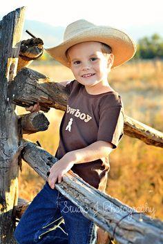 Little Cowboy by Studio J Photography