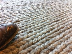 @shawnaseth Thought you might enjoy this rug that looks like it's made out of a giant knit sweater. | Flickr - Photo Sharing!