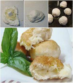 Bomboloni patate e mozzarella