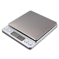 משקל דיגיטלי איכותי עם דיוק של 0.01 גרם