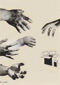 Herbert Matter, Hands, from the Early Series, 1941