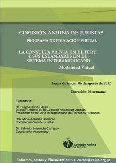 Perú: Especialistas expondrán en curso virtual sobre consulta previa en Perú