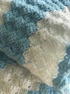 Easy Peasy Crochet Baby Blanket