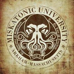 Lovecraft's Miskatonic University Art Print