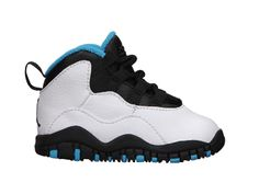 Air Jordan Retro 10 (2c-10c) Infant/Toddler Girls' Shoe