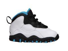 Air Jordan Retro 10 (2c-10c) Infant/Toddler Girls' Shoe