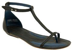 Patagonia Shoes - Bandha T-Strap Sandals (Black)