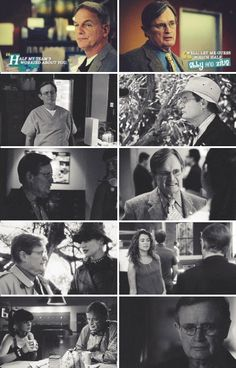 When Ziva and Abby were worried about Ducky. They are like family.