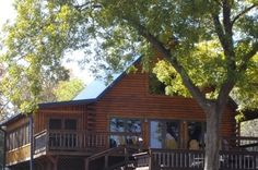 River Bend Lodge in south-central Oklahoma offers a peaceful retreat in the heart of the Arbuckle Mountains.