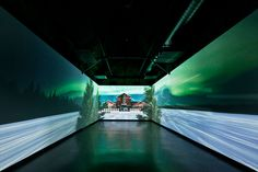 Istanbul creative agency Antilop created this audio-visual and interactive installation for Coca-Cola's 125th Anniversary Exhibition's Future Room concept for Turkish modern-art museum santralistanbul. http://vimeo.com/36321631