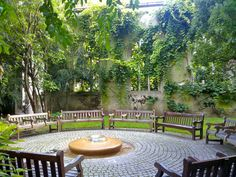 St Dunstans in the east suffered damage in the great fire of London in 1666 and hit in the blitz 1941, now a public garden, London Bridge area