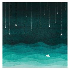Hey, I found this really awesome Etsy listing at https://www.etsy.com/listing/225035877/print-sailboat-sea-night-stars