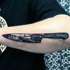 la creatividad culinaria está intrínsecamente consagrado por la originalidad grandioso de un tatuaje cuchillo de chef. Estos emblemas impresionantes son capaces de afilar, incluso