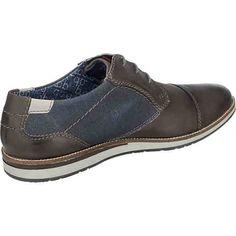 f334c0f6369 Die sportiven bugatti Freizeit Schuhe bestehen aus Leder und Textil und  zeigen sich mit dezenten Zierdetails
