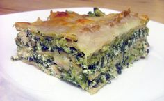 Light Pesto Lasagna with Chicken and Spinach