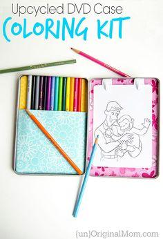 DVD Case Coloring Kit - unOriginal Mom