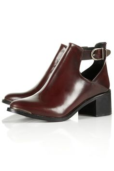 Back to school shoes: Topshop Action clean buckle boots