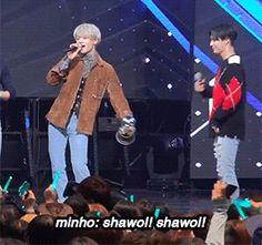 161013 #SHINee - Mnet M! Countdown '1Of1 + Todays's Winner & Encore' #Taemin #Minho #2min