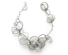 Tia Kramer, United States, Necklace - Swell Series, 2011, sterling silver, handmade paper