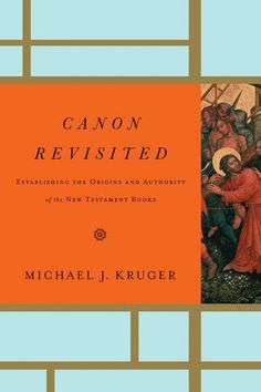 Canon Revisited: Establishing the Origins and Authority of the New Testament Books by Michael J. Kruger. $8.65. Publisher: Crossway (April 5, 2012). Author: Michael J. Kruger. 368 pages
