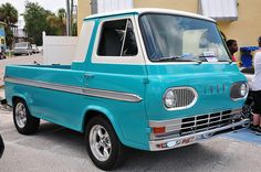 Ford Econoline. blue. probably enough of them in here now