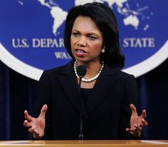 Ms. Condoleza Rice, she wasn't a first lady but she is a Real Lady. Brilliant and capable.
