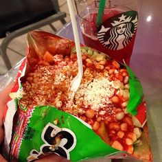 Craving wins! Tostilocos and passion tea!