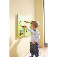 HABA Learning Wall - Motor Skills with Cars | Wall Panel Toys