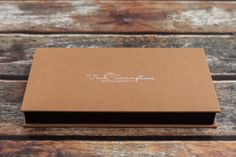Album in leatherette box with USB - Prints Products packages Newborn Photography by Trudi Scrumptious Photography
