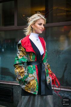 Caroline Daur by STYLEDUMONDE Street Style Fashion Photography