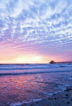 beautiful beach morning.
