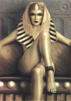 Nude Egyptian Woman 13
