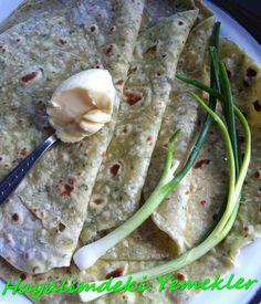 Patatesli ve Maydanozlu Lavaş Tarifi Guacamole, Rolls, Bread, Dinner, Ethnic Recipes, Food, Pains, Pizza, Dining