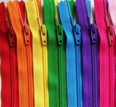 14 inch Ykk rits Rainbow Sampler Pack 10 PC