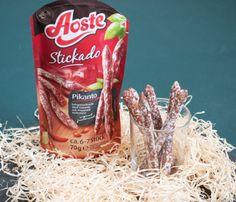 Unterwegs, im Büro, oder einfach zwischendurch sind die Aoste Stickado der perfekte Snack. Gesnackt und für lecker befunden.