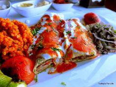 Beyti Sarma Kebab as served by Iskele Restaurant, Fethiye