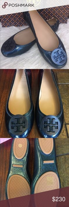 Tory Burch Flats New with box 100% Authentic SOLD OUT IN TORY BURCH WEBSITE Tory Burch Shoes Flats & Loafers