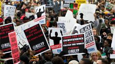 Thousands March on Washington to Protest Police Killings