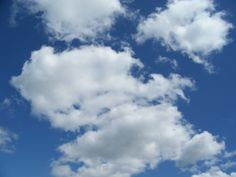 Clouds in the sky.  Let your mind drift.