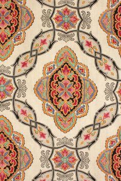 Antique French Fabric Block Roller Printed Bed Curtain w Trim Drape C1870 | eBay ,