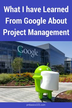 Information technology project management 8th edition by kathy what i have learned from google about project management fandeluxe Image collections